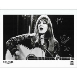 Melanie (Safka) Autographed 10x8 Photo