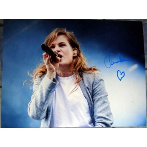 Christine and the Queens Autographed 16x12 Photo