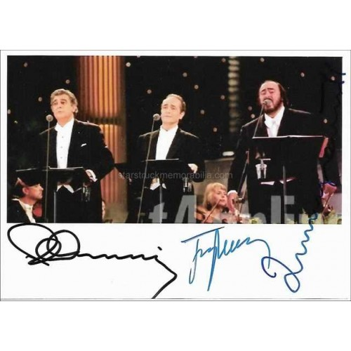 Three Tenors Autographed Photo