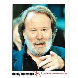 Benny Andersson Autographed 10x8 Photo