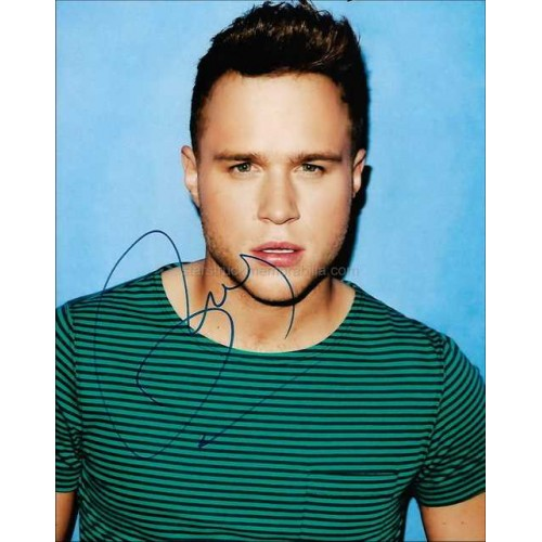 Olly Murs Autographed 10x8 Photo