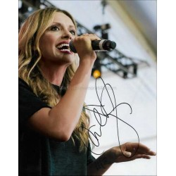 Carly Pearce Autographed 10x8 Photo