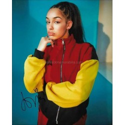 Jorja Smith Autographed 10x8 Photo