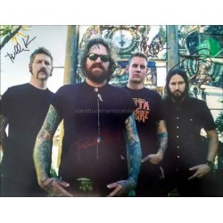 Mastodon Autographed 14x11 Photo