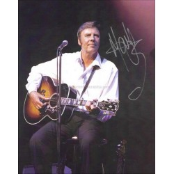 Marty Wilde Autographed 10x8 Photocard