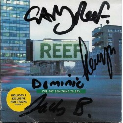 Reef Autographed CD