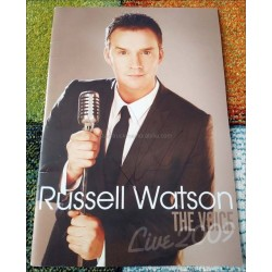 Russell Watson Autographed Tour Programme