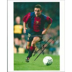 Marc Overmars Autographed 10x8 Photo