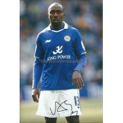 Darius Vassell Autographed 11x8 Photo