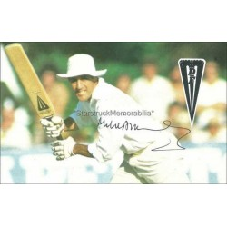 Mike Brearley Autographed 5x3 Photocard