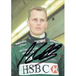 Johnny Herbert Autographed 6x4 Photocard