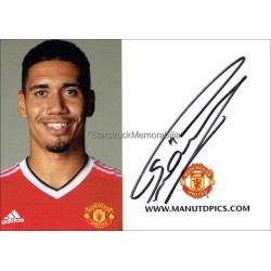 Chris Smalling Autographed 6x4 Photocard