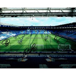 Leicester City Autographed 10x8 Photo
