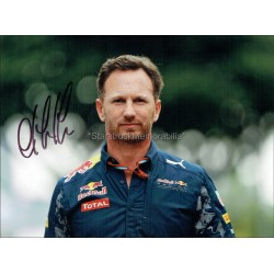 Christian Horner Autographed 8x6 Photo