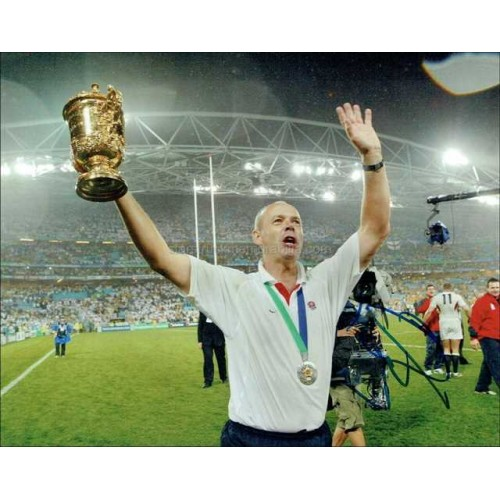 Clive Woodward Autographed 10x8 Photo
