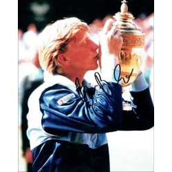 Boris Becker Autographed 10x8 Photo