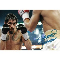 Manny Pacquiao Autographed 12x8 Photo