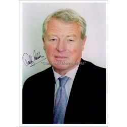 Paddy Ashdown Autographed 8x6 Photo