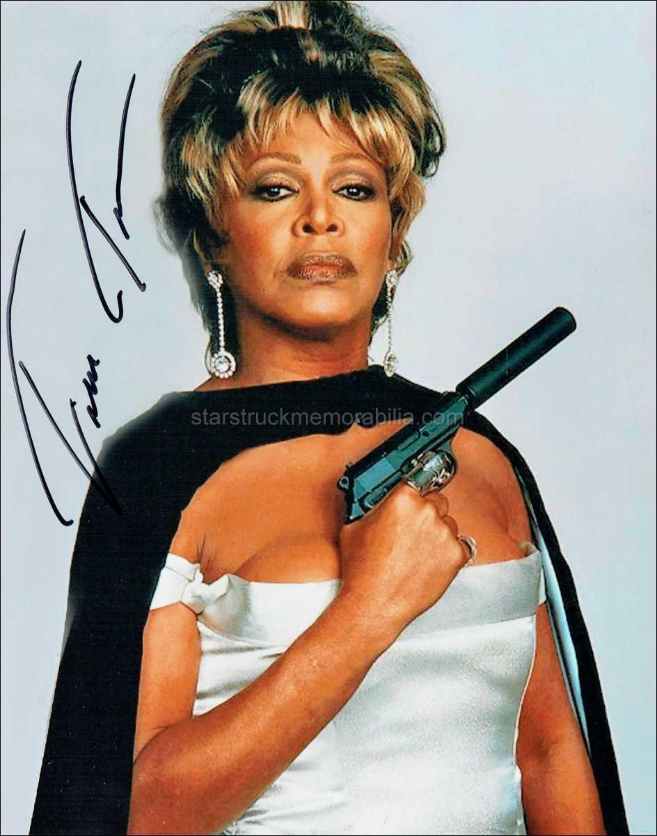 Tina Turner Signed 10x8 Photo Autograph (B)